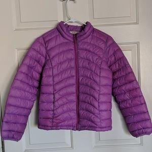 Old Navy Purple Puffer Jacket